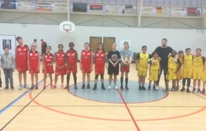 Match U13 Mixte le 01/02/2020 à 16h30
